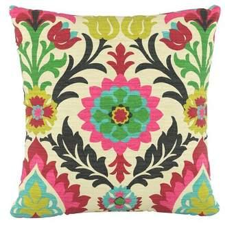 Skyline Furniture Floral Square Throw Pillow