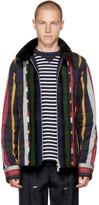 Sacai Multicolor Check and Striped Jacket
