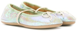 Pépé Iridescent Ballerina Shoes