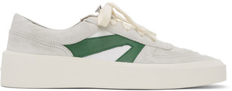 Fear Of God Grey and Green Skate Low Sneakers