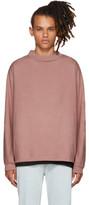 Simon Miller Pink Long Sleeve Gage T-shirt