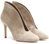 Gianvito Rossi Exclusive To Mytheresa.com – Vamp 85 Suede Ankle Boots