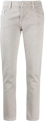 Emporio Armani Low-Rise Logo Jeans