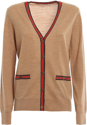 Tory Burch Color-block Madeline Cardigan