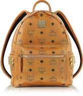 MCM Cognac Mini Stark Backpack
