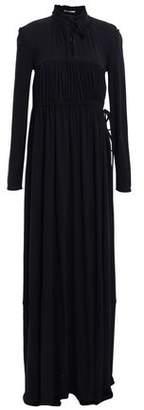 Co Ruffle-trimmed Crepe Maxi Dress