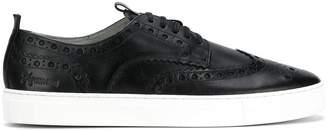 Grenson Brogue-Detail Sneakers