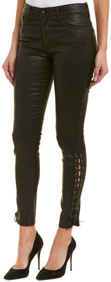 AG Jeans The Farrah Super Black High-Rise Skinny Ankle Cut