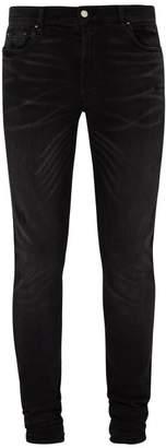 Amiri Stack Skinny-fit Jeans - Mens - Black