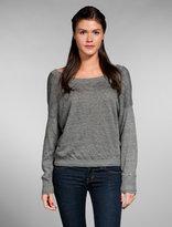 Slub Linen Dolman Pullover Sweater