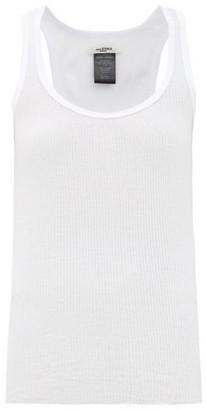 Etoile Isabel Marant Louisanea Ribbed Cotton-jersey Tank Top - White