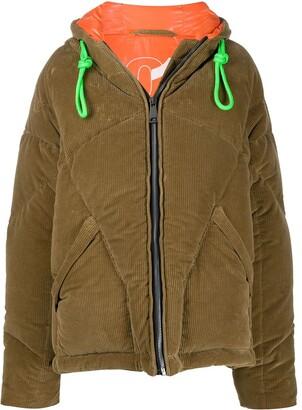 KHRISJOY Corduroy Padded Coat
