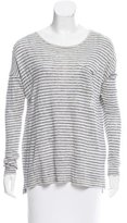 Vince Striped Long Sleeve T-Shirt