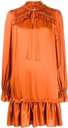Temperley London Ruffle Neck Dress