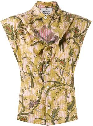 Vivienne Westwood Embroidered Sleeveless Shirt