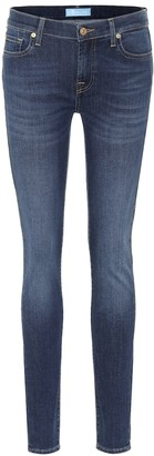 7 For All Mankind The Skinny B(AIR) mid-rise jeans