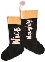 Rosanna Naughty and Nice Stockings, Set of 2