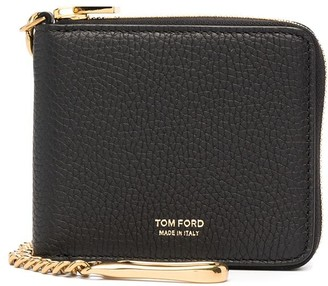 Tom Ford Zip-Up Leather Wallet