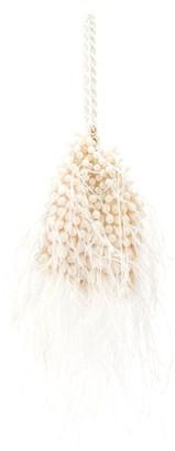 Cult Gaia Dory feathered mini bag
