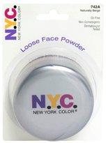 N.Y.C. Loose Face Powder, Naturally Beige 742A by N.Y.C.