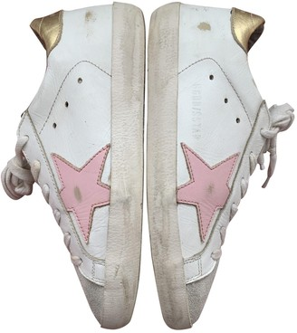 Golden Goose Superstar White Leather Trainers