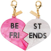 Edie Parker Best Friend charm - women - Acrylic - One Size