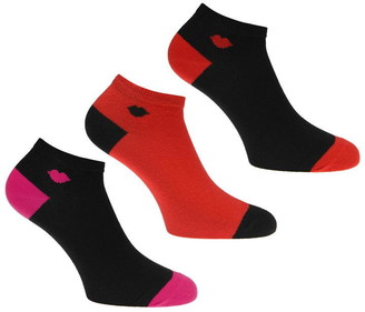 Lulu Guinness Lulu Small Lip Trainer Socks