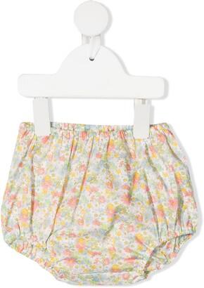 Bonpoint Floral Bloomer Cotton Shorts