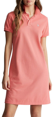 Polo Ralph Lauren Cotton Mesh Polo Dress