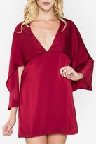 Sugar Lips Fiona Cape Dress