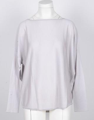 Snobby Sheep Ice Gray Women's Silk & Cashmere Blend Women's Sweater