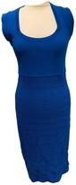 Antonio Berardi Blue Cotton - elasthane Dress for Women