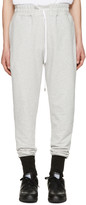 Pyer Moss Grey French Terry Lounge Pants