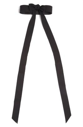 Dries Van Noten Grosgrain Bow Belt
