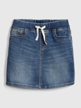 Gap Kids Denim Pull-On Skirt