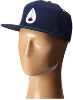 Nixon Icon 110 Snapback Hat Navy White