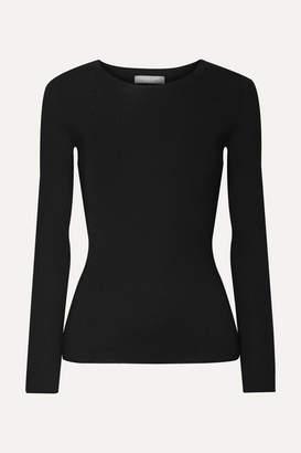 Michael Kors Ribbed Cashmere Sweater - Black