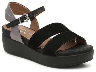 Nicole Kirra Wedge Sandal
