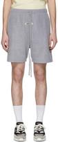 Essentials Grey Polar Fleece Shorts