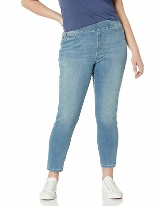 Amazon Essentials Plus Size Pull-on Skinny Jegging Jeans