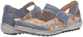 Rieker R1420 Liv 20 (Adria/Beige Multi) Women's Shoes