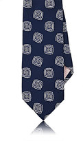 Fairfax MEN'S MEDALLION-PATTERN SATIN NECKTIE