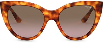 Vogue Eyewear Oversize Cats Eye Sunglasses