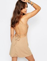 Motel Winnie Tie Back Dress