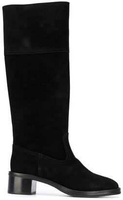 L'Autre Chose Block-Heel Riding Boots