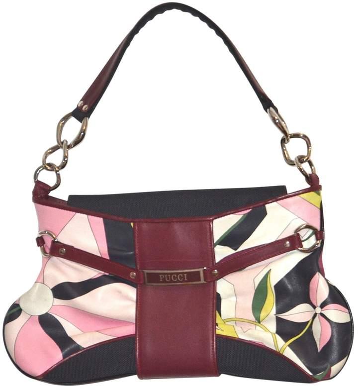 Emilio Pucci Multicolour Leather Clutch Bag
