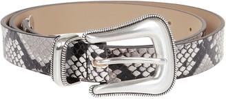 B-Low the Belt Cintura Wylder Python