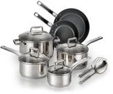 T-Fal Precision 12-pc. Ceramic Stainless Steel Cookware Set