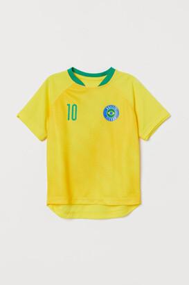 H&M Soccer Shirt - Yellow