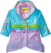 Kidorable Little Girls' Mermaid Polyurethane Raincoat